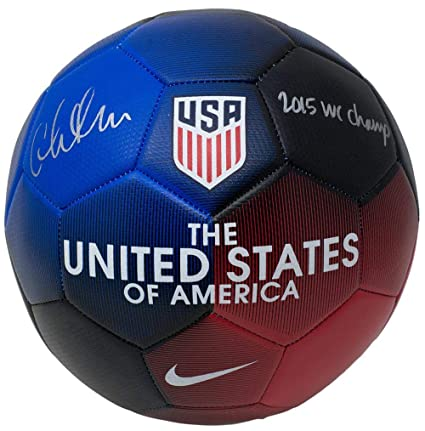 Christen Press Signed USA Nike Soccer Ball World Cup Champs Inscription -  JSA Certified - Autographed Soccer Balls at Amazon s Sports Collectibles  Store f0279ccfe