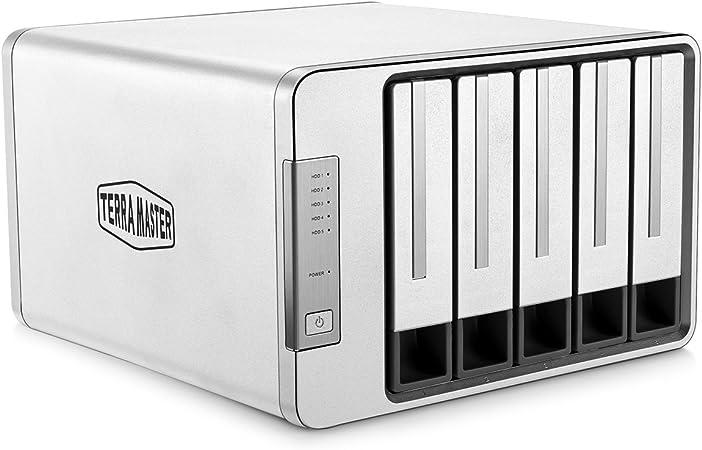 TERRAMASTER D5-300 Tipo C USB3.0 5Gbps 5 Bahía Raid5 Caja Disco ...