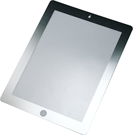 Rolling Ave Bubee Bubble-Free Screen Protector for iPad2 iPad3 New iPad Black