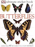 Ultimate Sticker Book: Butterflies: More Than 60 Reusable Full-Color Stickers