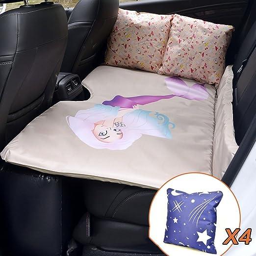 CYOUZHE Cojín universal para coche, camping o cama hinchable para ...