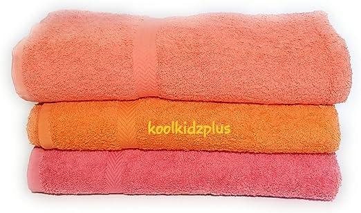 KKP Toallas > Juego de 3 > Calidad Toallas de baño, 100% algodón ...