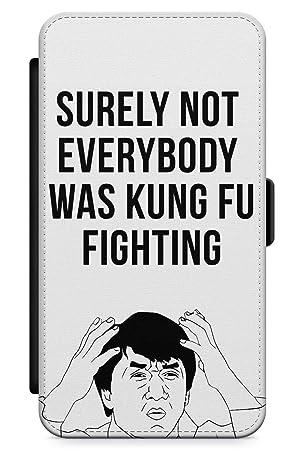 iPhone X/iPhone XS Pelea De Kung Fu Funda de Teléfono de Goma Cover Gracioso Jackie Chan Meme por Qué Claro: Amazon.es: Electrónica