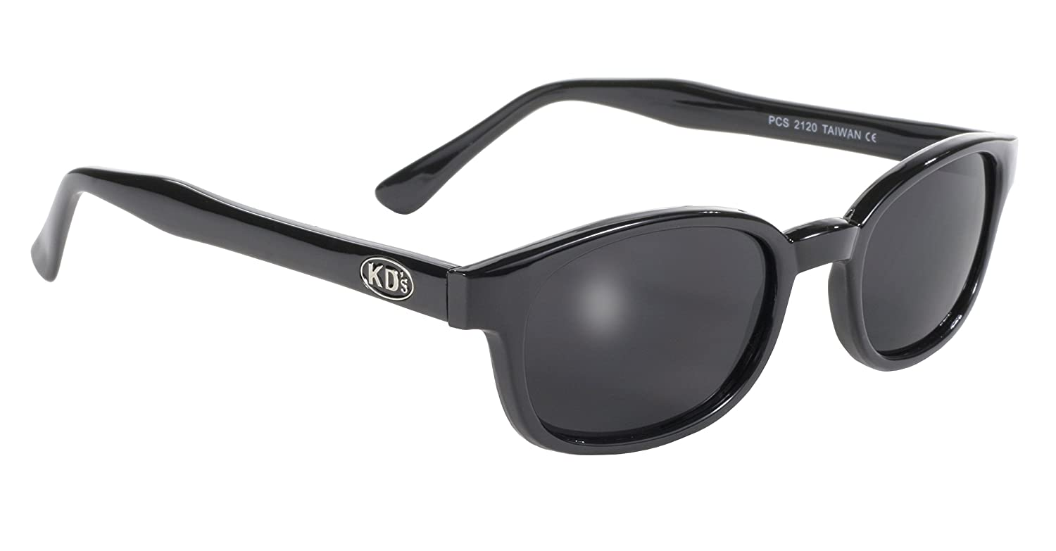 Pacific Coast Original KD's Biker Sunglasses (Black Frame/Dark Grey Lens) by Pacific Coast Sunglasse...
