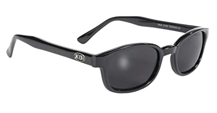 613dcfbcf6 Amazon.com  Pacific Coast Original KD s Biker Sunglasses (Black ...