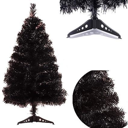 Amazon Com Atokiss Artificial Decorated Christmas Tree Black Xmas