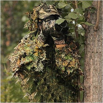 SGOYH Combinaison Uniforme de Costume de Camouflage Chasse Paintball Tir BDU Tactical Airsoft Chemises et Pantalons