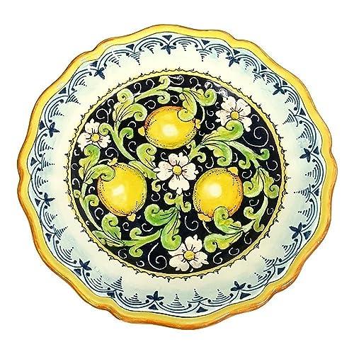 CERAMICHE D\u0027ARTE PARRINI - Italian Ceramic Art Pottery Serving Plate Dish Food Hand Painted  sc 1 st  Amazon.com & Amazon.com: CERAMICHE D\u0027ARTE PARRINI - Italian Ceramic Art Pottery ...