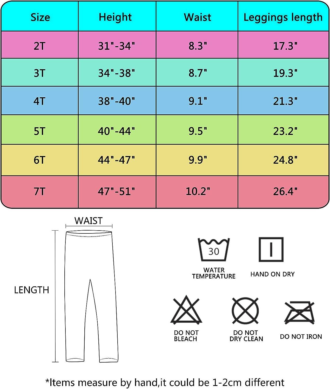 Zebricolo Pantalones Leggings Para Ninas Chicas Elasticos Medias 1 7 Anos Paquete De 3 Bluffet Com