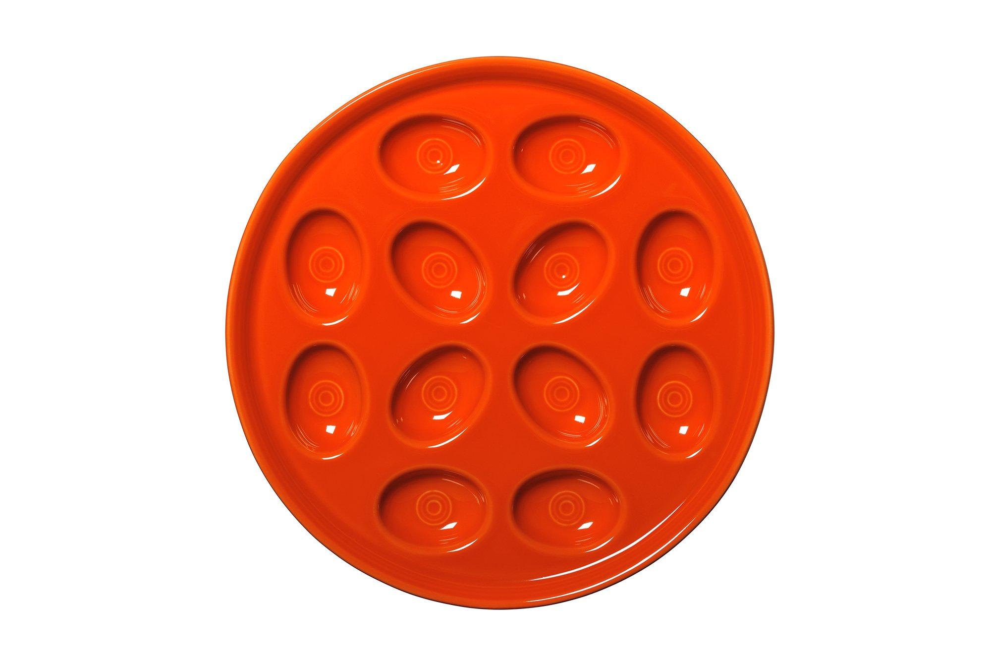 Fiesta Egg Tray, 11-Inch, Poppy by Fiesta (Image #1)