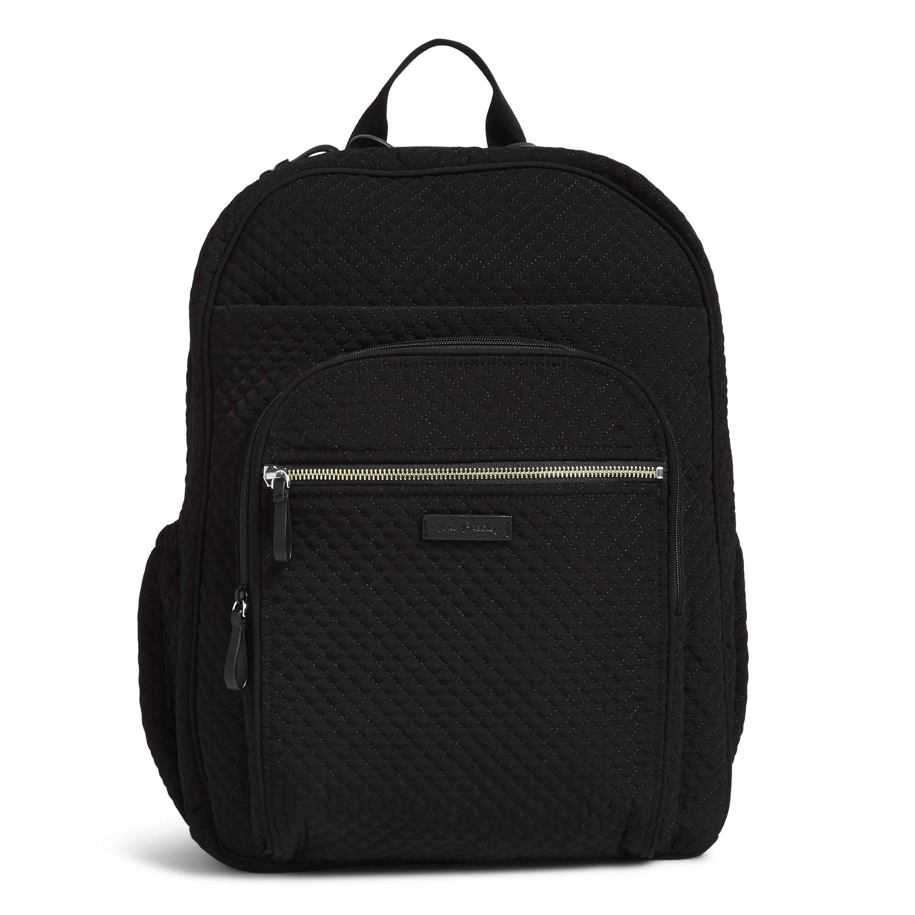 Vera Bradley Iconic XL Campus Backpack, Microfiber, Classic Black by Vera Bradley