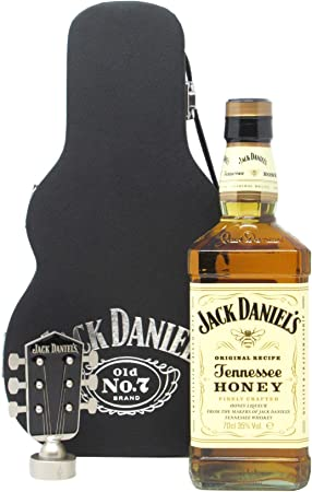 Jack Daniels - Tennessee Honey Guitar Case (Hard To Find Whisky Edition) - Whisky