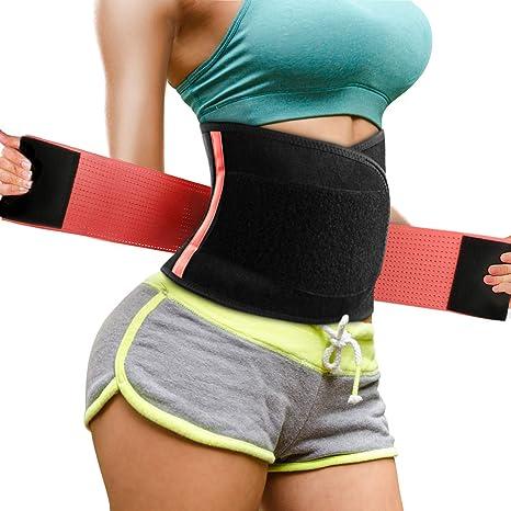 Magicfun Faja Reductora Adelgazante Mujer - Cinturón Abdominal de ...