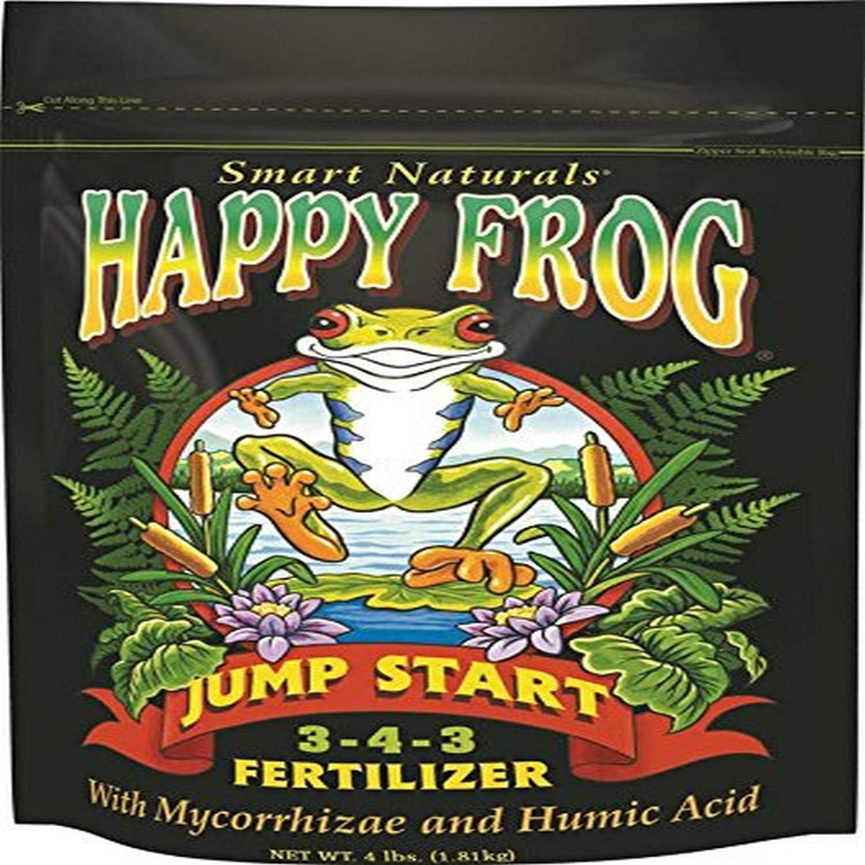 FoxFarm FX14032 4-Pound Happy Frog Jump Start Fertilizer 3-4-3
