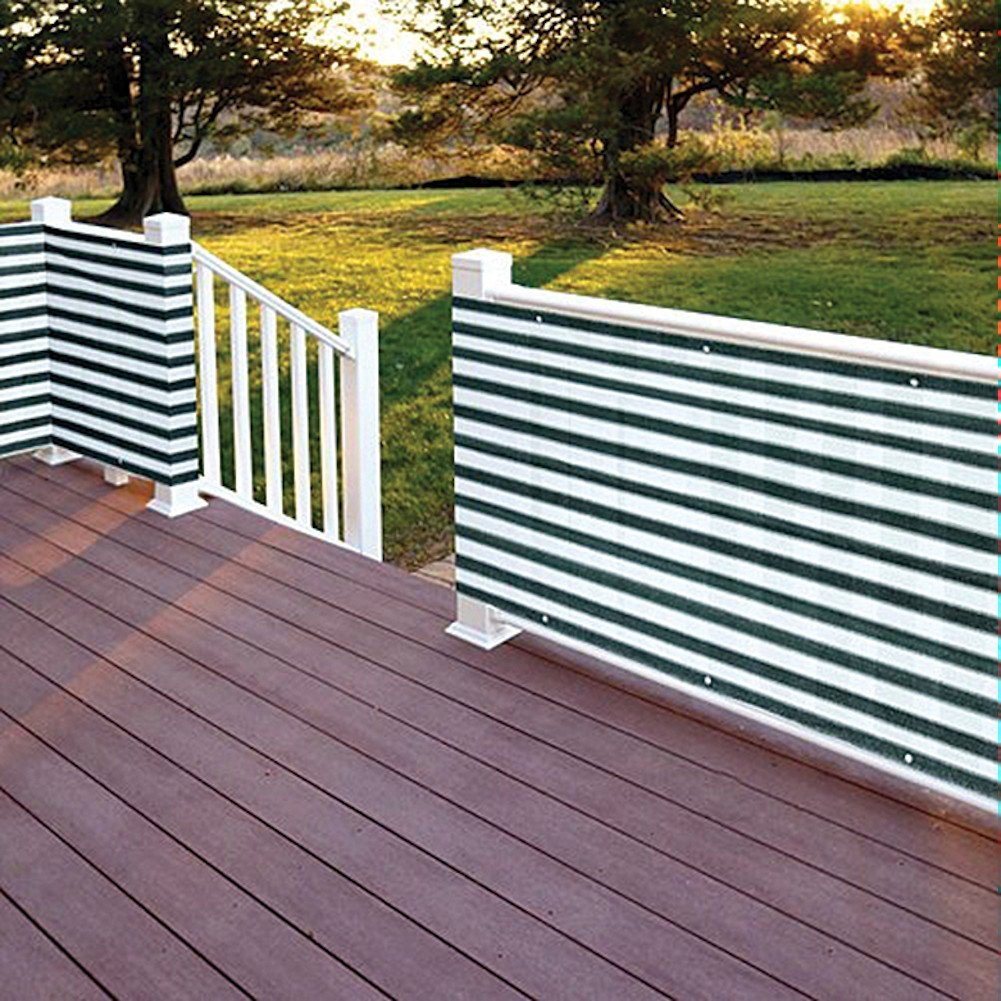 Amazon flexible outdoor water proof two toned privacy deck amazon flexible outdoor water proof two toned privacy deck fence everything else baanklon Gallery