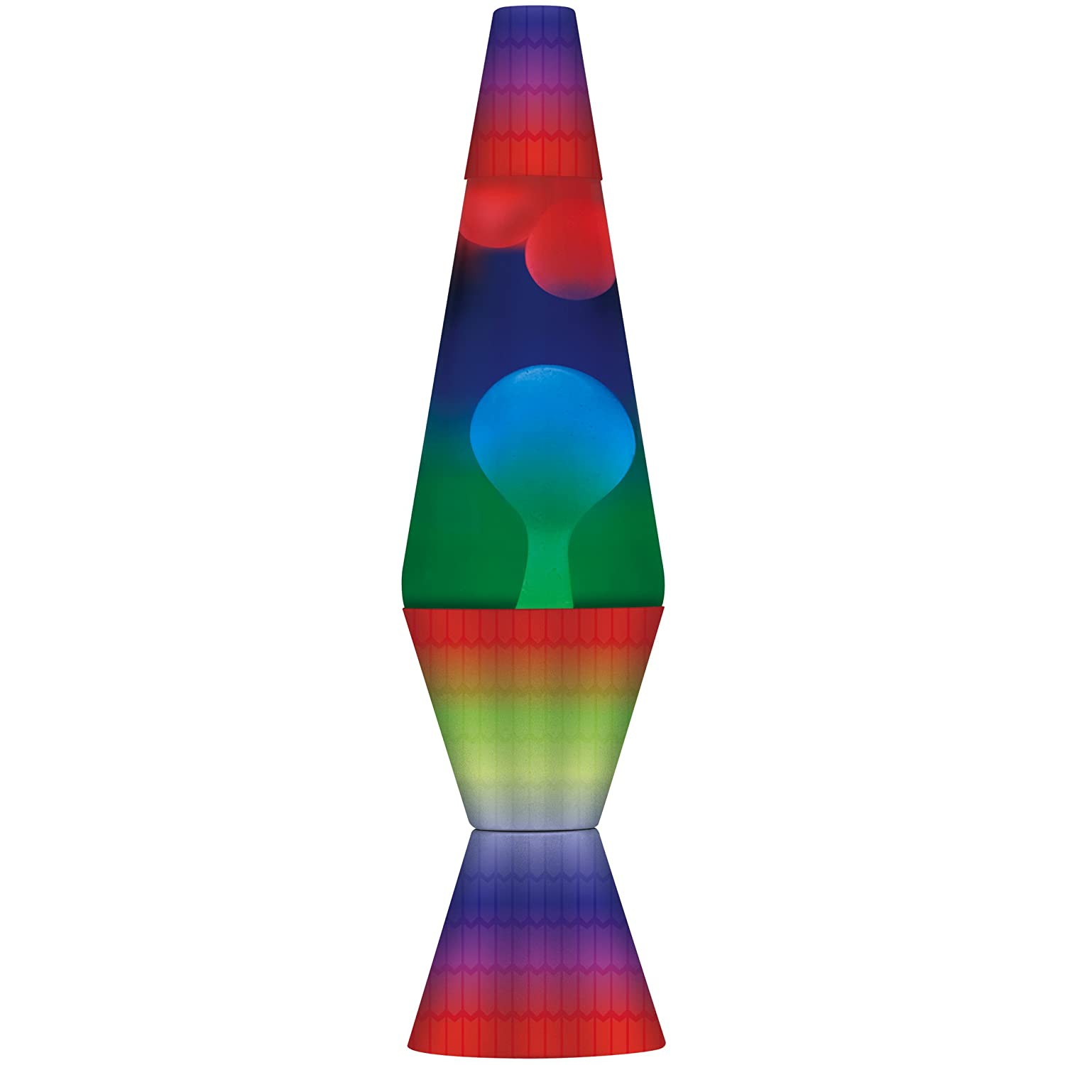 Lava the Original 14.5-Inch Colormax Lamp with Rainbow Decal Base ...