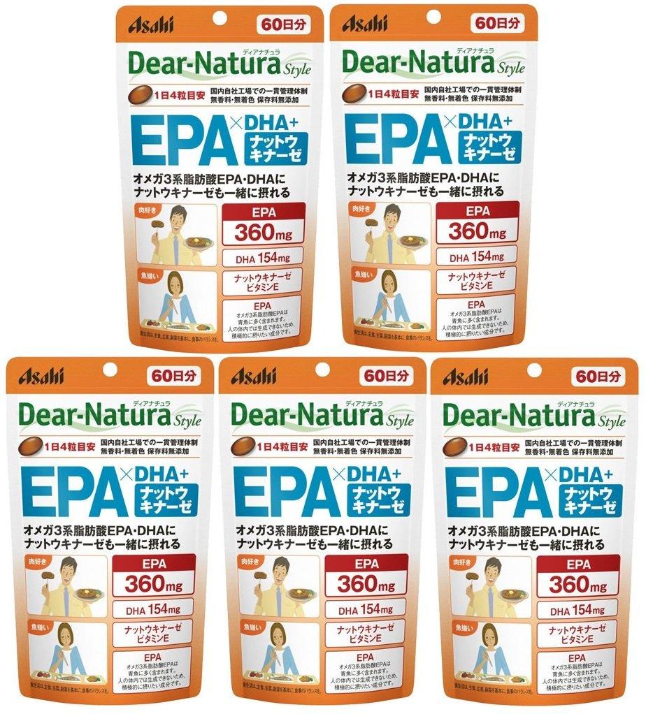 ディアナチュラスタイル EPAxDHAナットウキナーゼ (60日分) 240粒 B01JFXOSY6 1個  1個