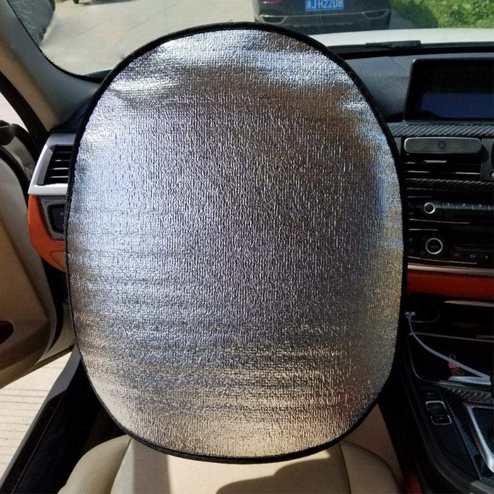 Car Sun Shades HEIRAO Car Sun Visors Extension Steering Wheel 1 Packs Kids and Pets Car Window Shades for Baby