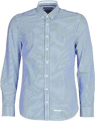 MARC OPOLO CARACOLIA Camisas Hommes Blanco/Azul - S ...