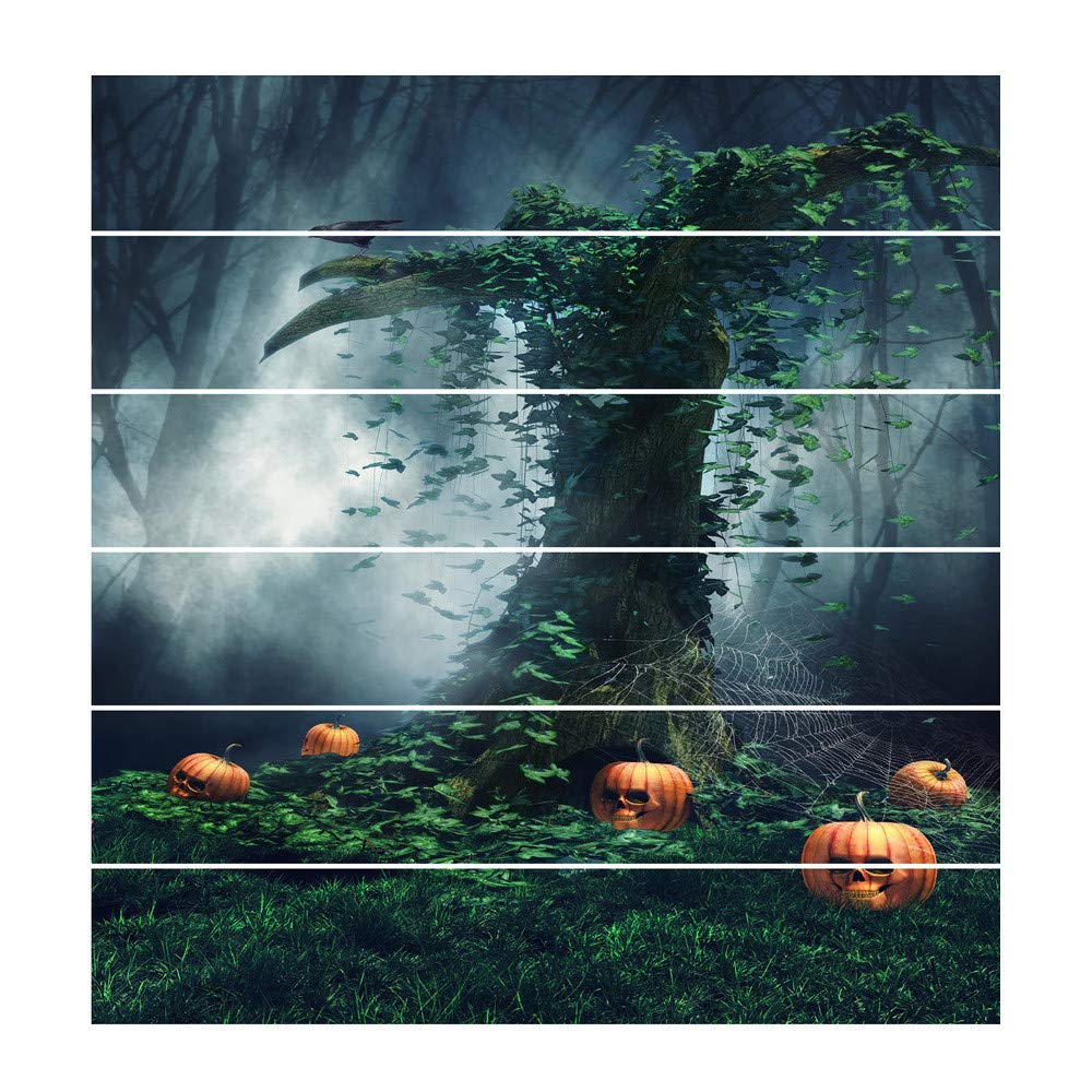 Amazon.com: DMZ Wall Stickers Waterproof 3D Halloween DIY Home Decor Simulation stair stickers: Beauty