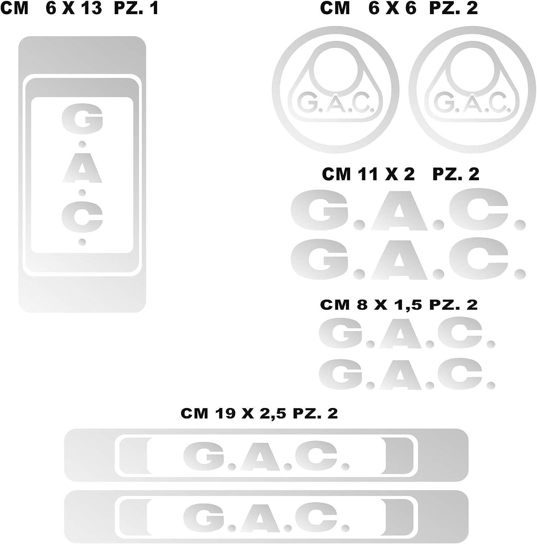 Kit Pegatinas Stickers Bicicleta G.A.C. -09 Piezas- Bike Cycle Cod ...