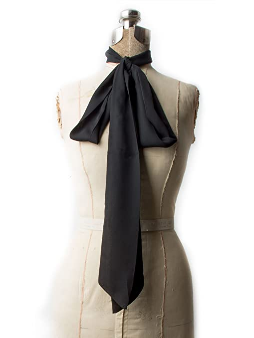 1920s Flapper Headbands Odette Chiffon Skinny Scarf Headband or Belt $16.95 AT vintagedancer.com