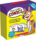 First Little Comics Parent Pack: Levels E & F: 16 Funny Books That Are Just the Right Level for Growing Readers