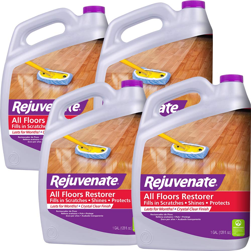 Rejuvenate All Floors Restorer Fills in Scratches Protects & Restores Shine No Sanding Required