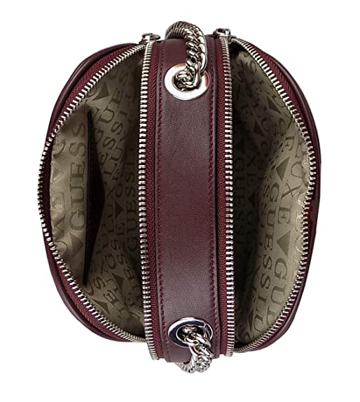 Guess Luxe borsa donna HWCLSOL8439 bordeaux: Amazon.it