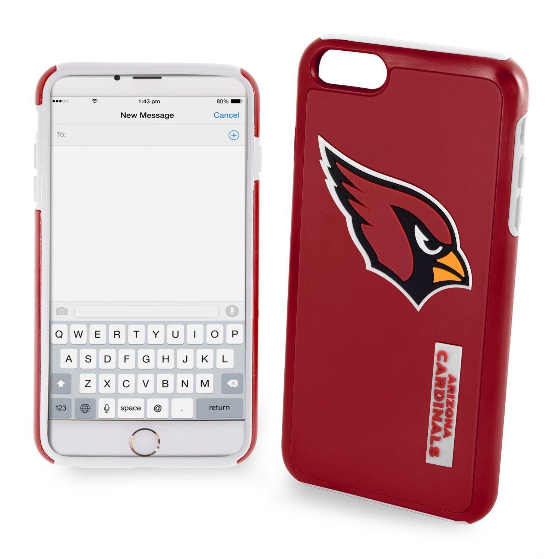 Amazon.com: Arizona Cardinals NFL iphone 6 Plus Dual Híbrido ...