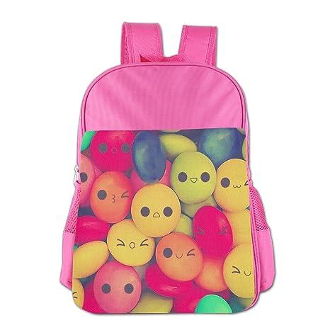 Gabriela Rosales Smile Candy elegante personalizada Diseño Unisex bolsa de los niños mochila Bolsa Escuela Deporte