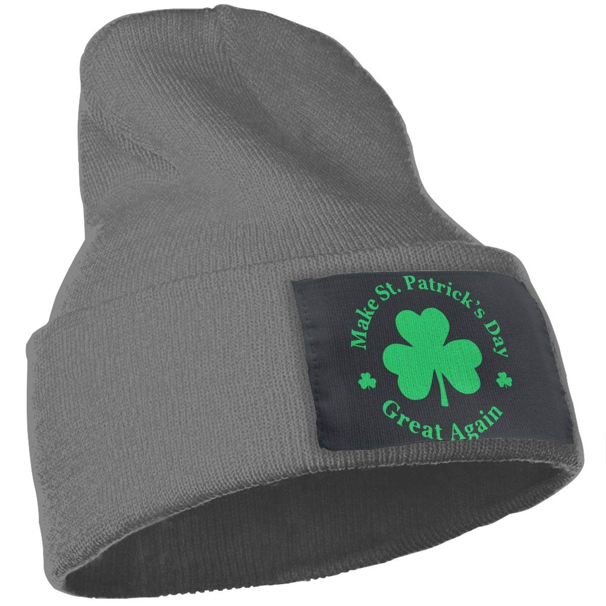 Make St Patricks Day Great Again Men Women Winter Warm Knitted Hat