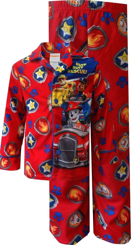 Nickelodeon Boys Paw Patrol Ruff Ruff Rescue Red Toddler Pajamas
