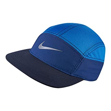 Nike MS Run Zip Aw84 - Gorra para Hombre, Color Azul, Talla única