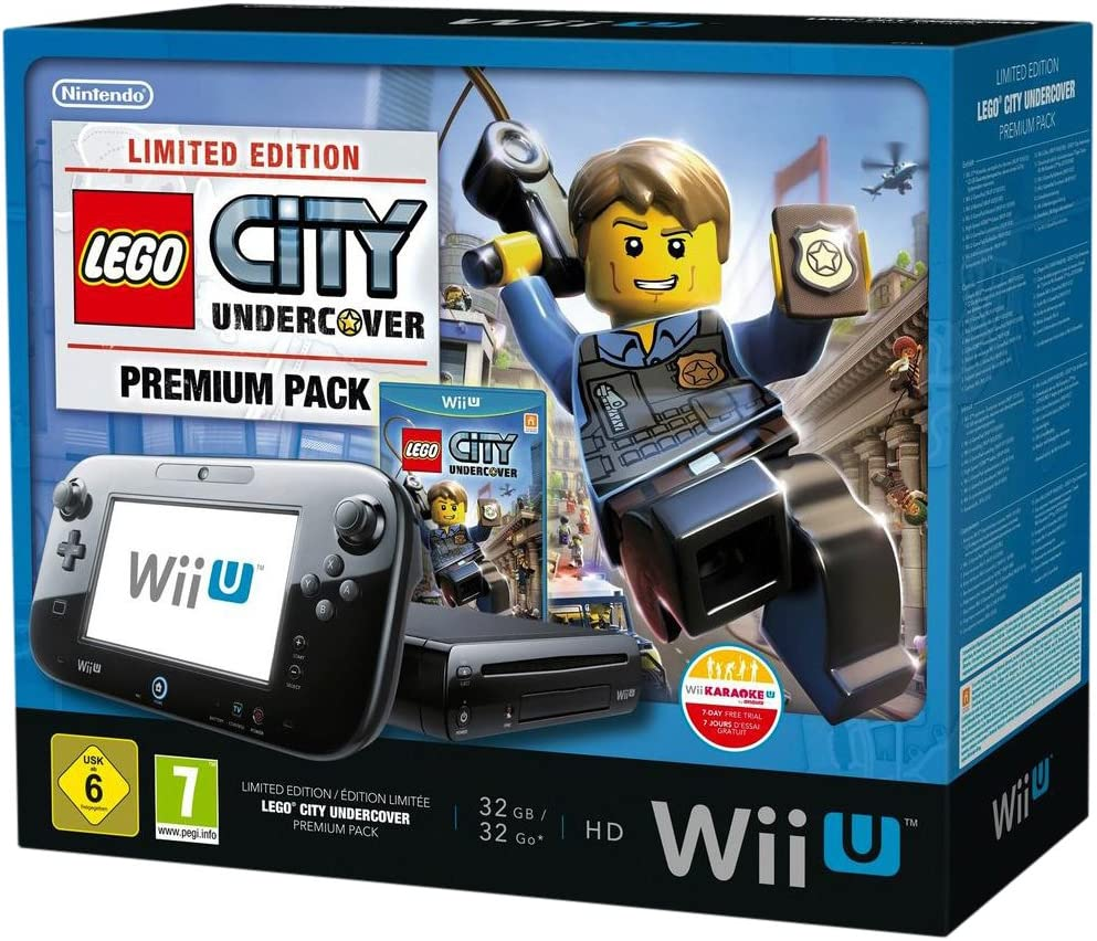 Nintendo Wii U Premium Pack - Lego City - juegos de PC (Wii U, 2048 MB, IBM PowerPC, DVD, SD, SDHC, 32 GB) Negro: Amazon.es: Videojuegos