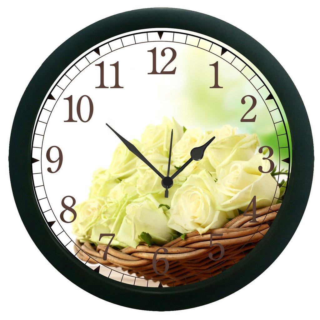 12 Hour Analog Display Wall Clock Home Window Hanging Art Watch | eBay