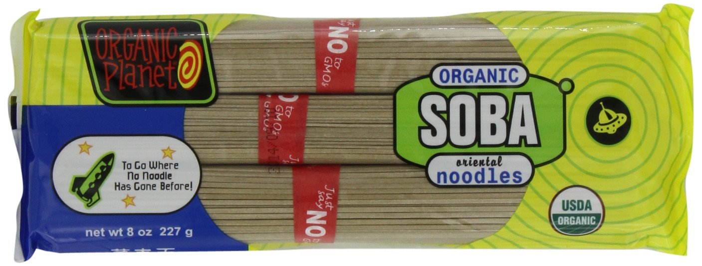 Organic Planet Organic Soba Noodles,  12 - 8-Ounce packages by ORGANIC PLANET