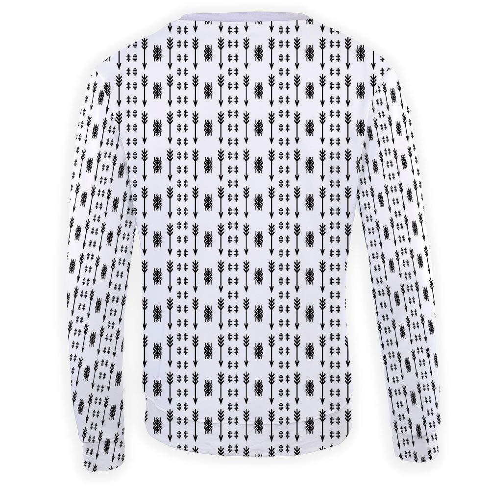 MOOCOM Mens Music Crewneck Sweatshirt-Unisex