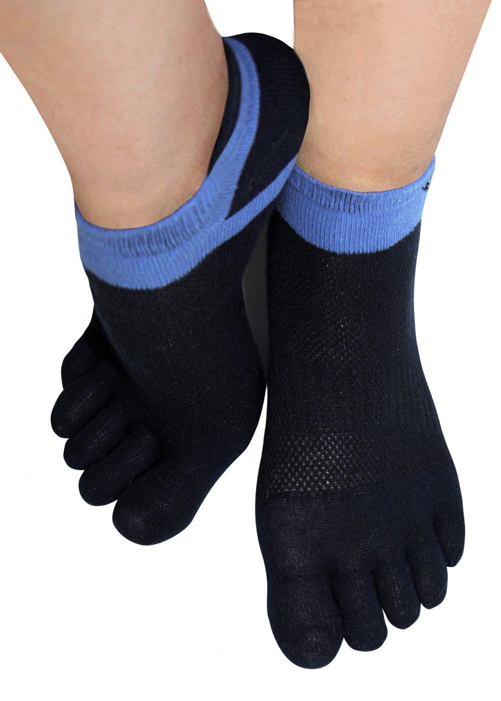 1 Paar Zehensocken Sneakersocken Zehen Fingersocken Toe Socks Sport Yoga Pilates Socken Damen Herren ZEHENS-1401