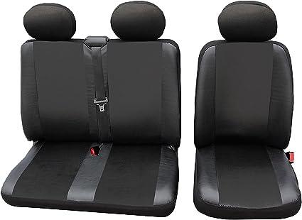 2 GRIS NOIR housse de siège Sitzbezüge Housses de protection