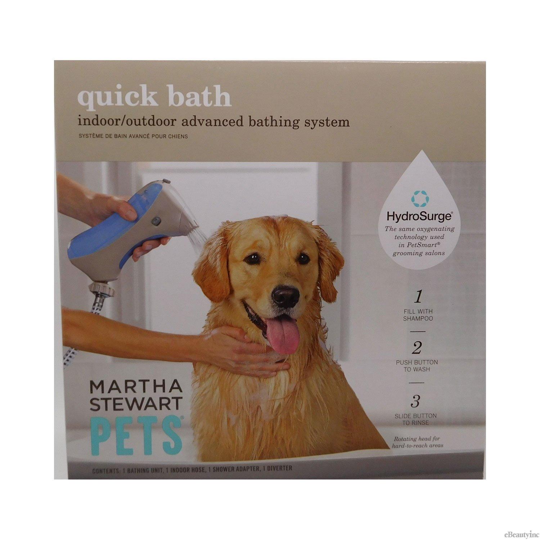 amazon com martha stewart pets quick bath indoor outdoor