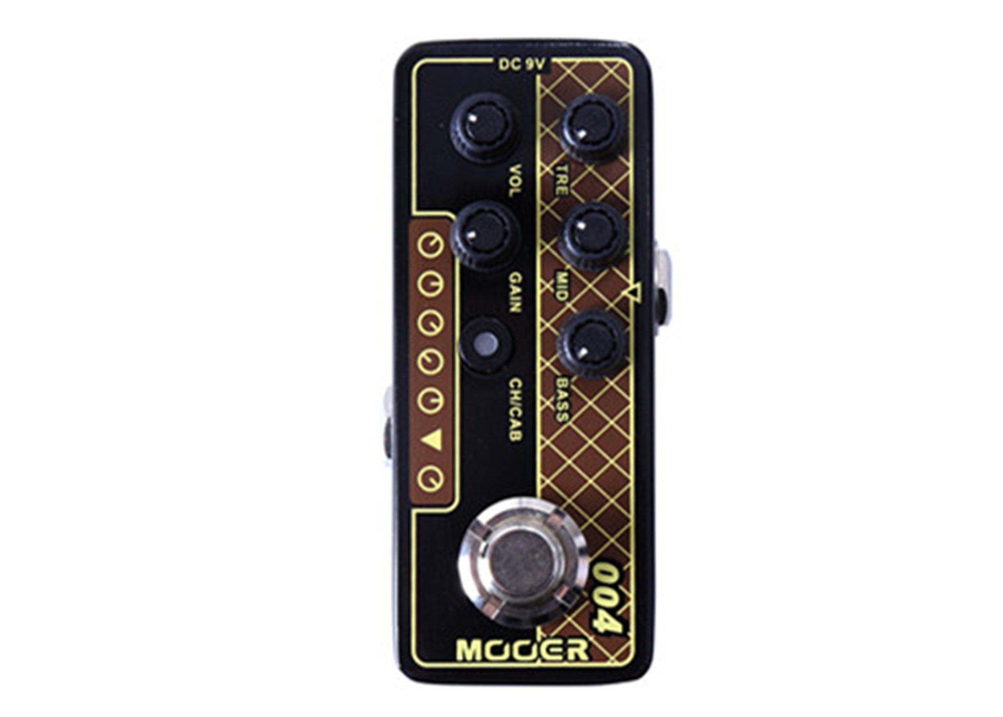 Mooer Micro Preamp 004 Day Tripper w/Bonus RIS Pick (x1) 6943206792130