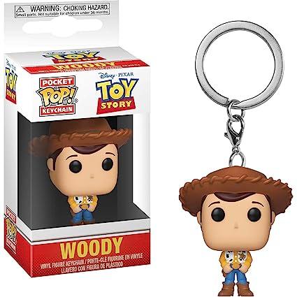 Amazon.com: Woody: Disney Pixar Toy Story x Funko Pocket POP ...