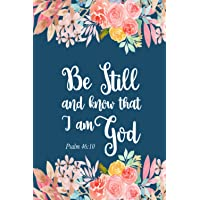 """Image for Be Still And Know That I Am God: Bible Verse Daily Weekly Planner 2021 6"""" x 9"""" Monthly Calendar Schedule Organizer Christian Quote Bible Verse Theme (Bible Quote Verse Christians 2021 Planner)"""