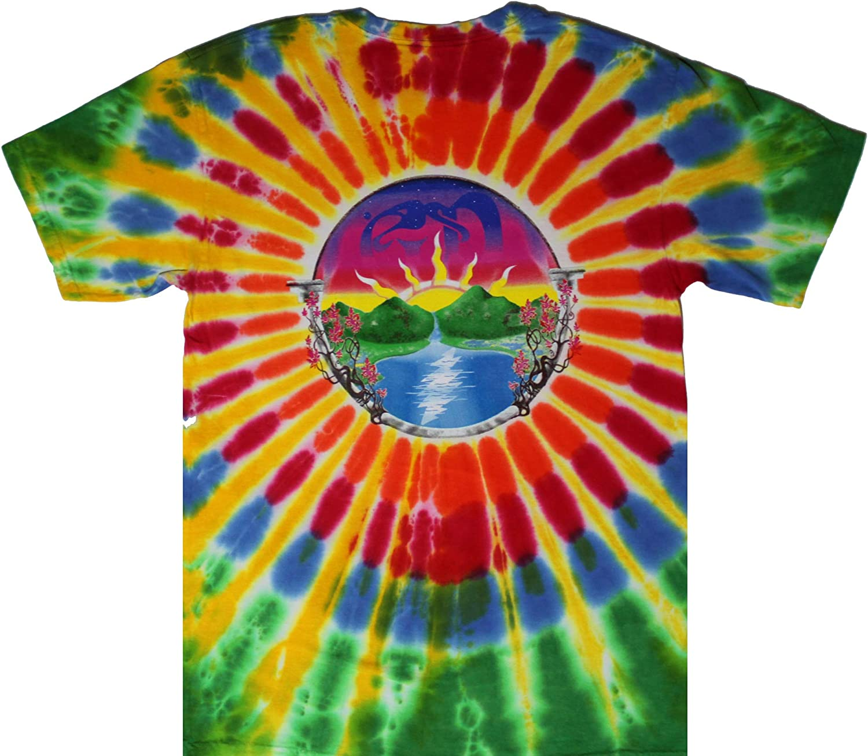 Grateful Dead SYF Ripple M XL 2XL Tie Dye T-Shirt L