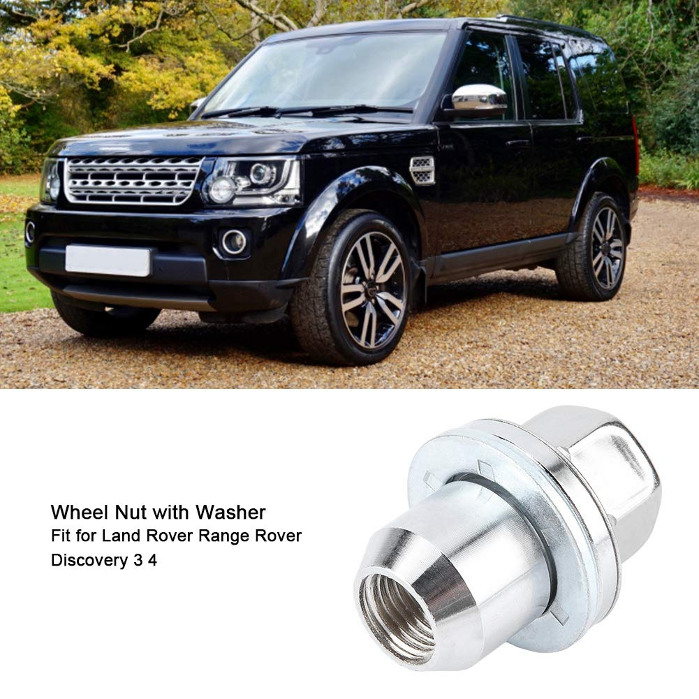 Discovery 3 05-09 OE RRD500510 Qii lu Car Wheel Nut with Washer Aluminum Alloy Wheel Nut for LR3
