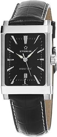 6c112ebcdbb Eterna 1935 Eterna-matic Femme Bracelet cuir noir Swiss montre automatique  8491.41.41.1117d