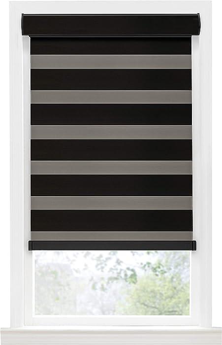 PowerSellerUSA Achim Home Furnishing Cordless Double-Layered Room Darkening Celestial Window Shade (31