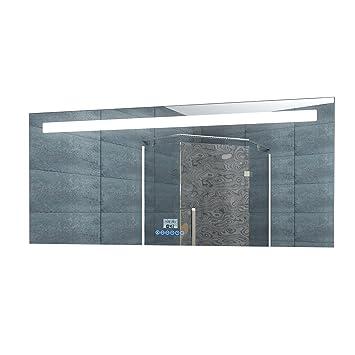 Led Beleuchtung Badezimmerspiegel Badspiegel Lichtspiegel Uhr Radio