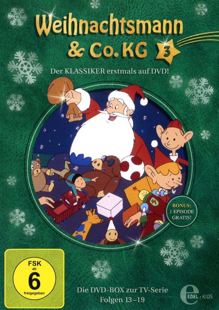 Weihnachtsmann & Co.KG - DVD-Box 3 (Folgen 13-19): Amazon.de: DVD ...